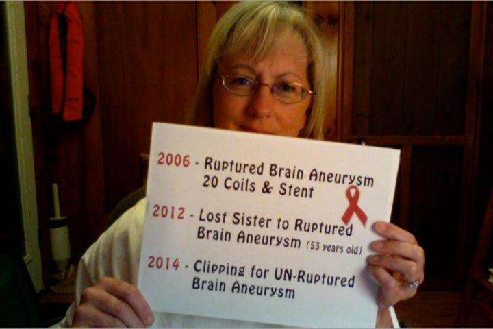 Brain Aneurysm Survivor